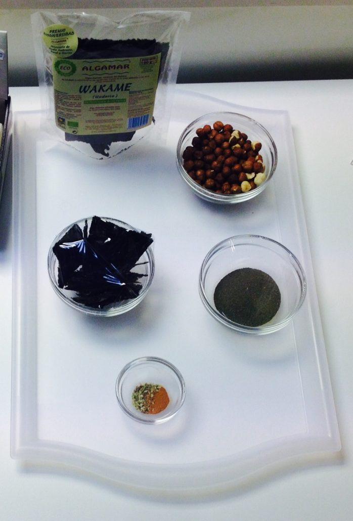 Condimento algas